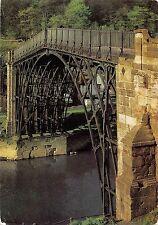 BR83268 the iron bridge across the river severn uk