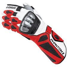 Held Phantom 2 Motorrad Sport Racing Handschuh NEU! weiß/rot 9