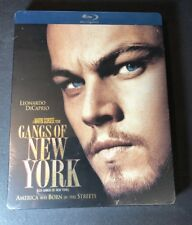 Gangs of New York [ Limited STEELBOOK Edition ]  (Blu-ray Disc) NEW