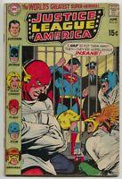 Justice League Of America 81 DC 1970 VG Neal Adams Flash Batman Superman