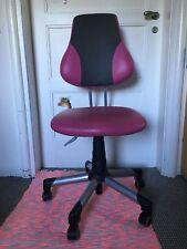Schreibtischstuhl für Kinder pink