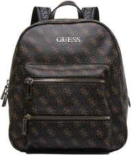 Guess Caley Large All Over Logo In Brown