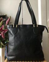 Gorgeous Designer Genuine BIBA Soft QUALITY LEATHER TOTE Bag SHOULDER Bag