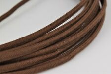 Bulk Antique Vintage 25' Cloth Covered (3) Conductor Round Telephone Wire-30032