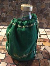 "Crown royal bag RARE HENNESSY ""PURE WHITE"" COGNAC BOTTLE  EMPTY"