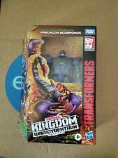 Transformers Kingdom War For Cybertron Predecon Scorponok  NEW 2021