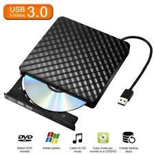 Slim External USB 3.0 CD Drive DVD Burner Reader Writer Player  for PC Laptop