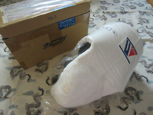 Winning Boxing Mexican High Cut Groin Cup No Foul Protector White Size L CPH-100