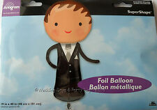 """40"""" Giant Groom Foil Helium Balloon Wedding Day / Stag Night Party Decoration"""