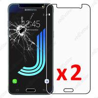 Lot 2 Film protection VERRE Trempé Vitre Samsung Galaxy J5 2016 SM-J510F