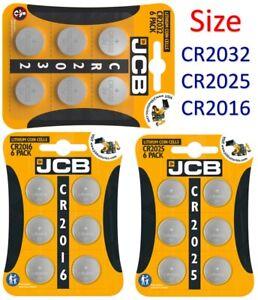 JCB CR2032 | 2025 | 2016 | Battery Coin Cell Button 3v Lithium