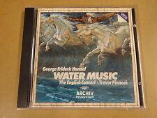 CD ARCHIV / G.F. HANDEL: WASSERMUSIC - THE ENGLISH CONCERT: TREVOR PINNOCK