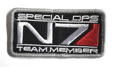 """Mass Effect N7 Special Ops Team Member Patch-3"""" Wide- FREE S&H (MEPA-06)"""