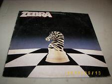 Zebra No Tellin' Lies LP 1984 80159-1 VG++