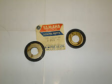 YAMAHA TX750, XS2, TX650 - FRAME REAR ARM THRUST COVERS (1 PAIR)