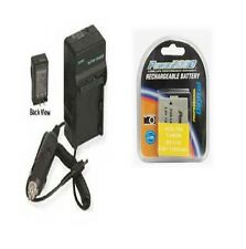 Battery+ CG110 5073B002 Charger for Canon HFR200 HFR206