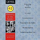 Level 42 : Running In The Family (Platinum Edition) CD FREE Shipping, Save £s