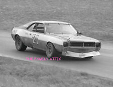 #21 JAVELIN BOB HENNIG RUSS NORBURN 1972 CAR RACE PHOTO DANVILLE 250 VIR RACING