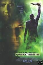 Star Trek: Nemesis Original Movie Poster 2002 Nr Mint