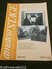 AMATEUR STAGE - OAST THEATRE TONBRIDGE - JUNE 1988