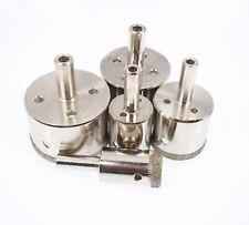 SET OF 5 DIAMOND  DRILLS 1MM-3MM- JEWELLERY DRILLS-STONE-PORCELAIN ECT-UK