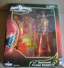 "MYSTIC FORCE BATTLIZED 12""RED POWER RANGERS FIGURE MIB"