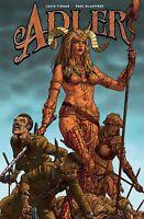 ADLER #2 TITAN BOOKS COVER B MCCAFFREY 1ST PRINT