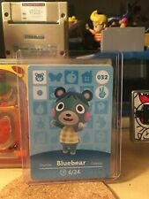 Bluebear 032 32 Animal Crossing Amiibo Card Horizon Series 1 MINT NEVER SCANNED!