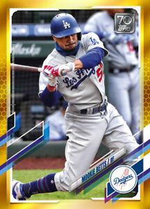 2021 Topps MLB Digital NFT Series 1 GOLD Mookie Betts Minted 696/881