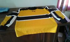 MAGLIA SHIRT VINTAGE PORTIERE GOALKEEPER OFFICIAL PUMA YELLOW BLACK