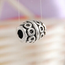 20pcs Tibet Silver Bead Spacers 6.7 x 8mm - Vintage Style