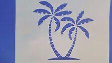 Schablone 599 Palmen Insel Wandtattoo Vintage Stanzschablonen Shabby Keilrahmen