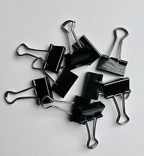 10 x Foldback-Klammern 19mm Allzweck Clips Aktenklammern Vielzweck Klammern