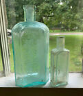 2+old+bottles+S.O.+Richardsons+BITTERS+open+pontil+Dr+Edwards+NY+as+is+medicines