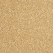 E541 Gold, Floral Durable Jacquard Upholstery Grade Fabric By The Yard