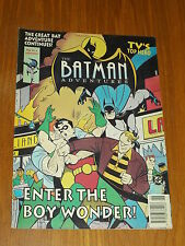 BATMAN ADVENTURES #4 BRITISH MONTHLY MAGAZINE 1993 ROBIN^