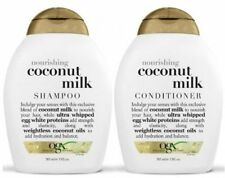 OGX Organix Nourishing COCONUT MILK Shampoo + Conditioner  (385ml )