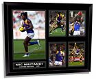 NIC NAITANUI WEST COAST EAGLES FRAMED MEMORABILIA