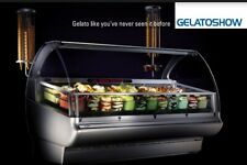 ISA Gelato Show 155 Gelato/Ice Cream Display Case in Crate