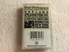 Copland-Appalachian Spring Suite-Fanfare For The Common Man-Cassette-1982 CBS #A