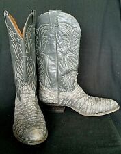 Nocona Western Mens Cowboy Boots with Pull Tab 10 D  USA