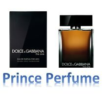 D&G DOLCE E GABBANA THE ONE EAU DE PARFUM FOR MEN NATURAL SPRAY VAPO - 100 ml