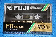 FUJI   FR METAL  90    VS. III  BLANK CASSETTE TAPE (1) (SEALED)