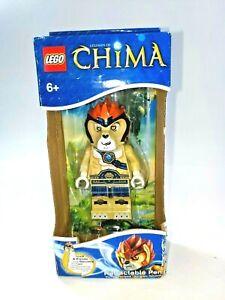 Lego Chima Character Retractable School Stationery Writing Pen Body Dock NEW NIB