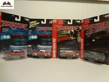 Auto World Johnny Lightning 1958 Plymouth Fury Christine Pack - Set of 4 1:64