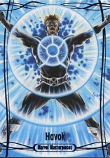 Marvel Masterpieces 2016 Purple Parallel [#/199] Base Card #42 Havok