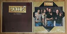 EXILE  vinyl  ALL THERE IS + Heart & Soul  LP 1979 1981 MARK GRAY J.P PENNINGTON
