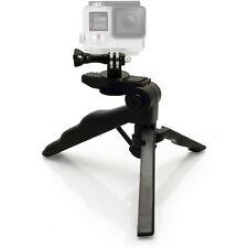 Pistol Grip Mini Table Stand Tripod + Adaptor Go Pro Hero Session 5 4 3+ 3 2 1
