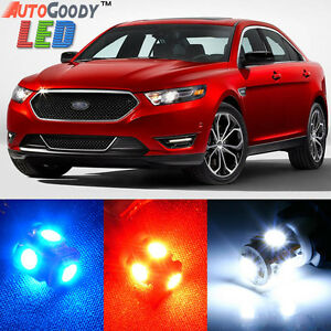 11 x Premium Xenon White LED Lights Interior Package Upgrade for Ford Taurus