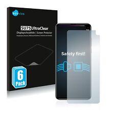 6x Displayschutzfolie für Cubot Max 2 Klar Transparent Schutzfolie Displayfolie